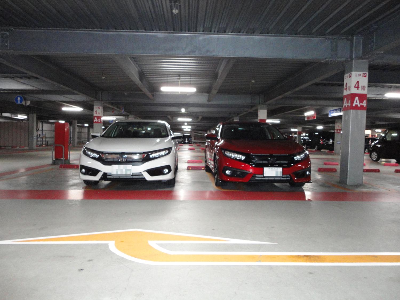 アリオ八尾駐車場にて01