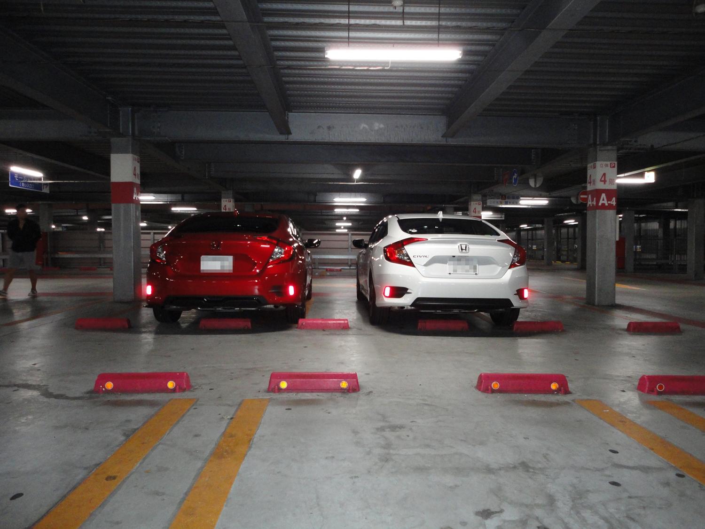 アリオ八尾駐車場にて02