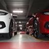 アリオ八尾の立体駐車場で撮ったシビック二台