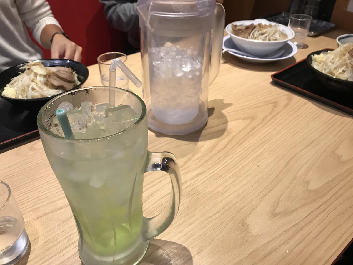 ラーメン男塾!!狭山店の注文状況