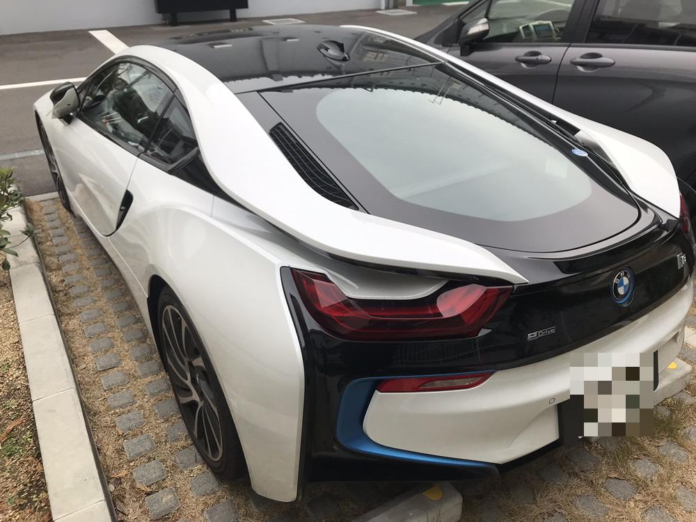 BMW i8 のエクステリア その5
